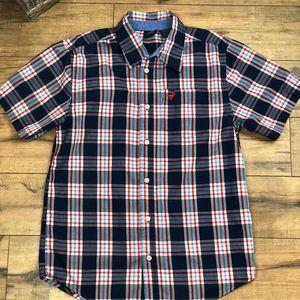 Wranger Boots Button Down Shirt XL 14-16 (585)